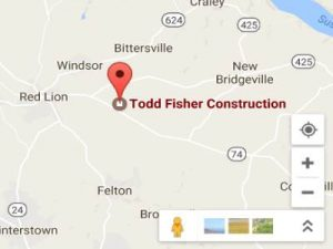 Todd Fisher Construction google maps image